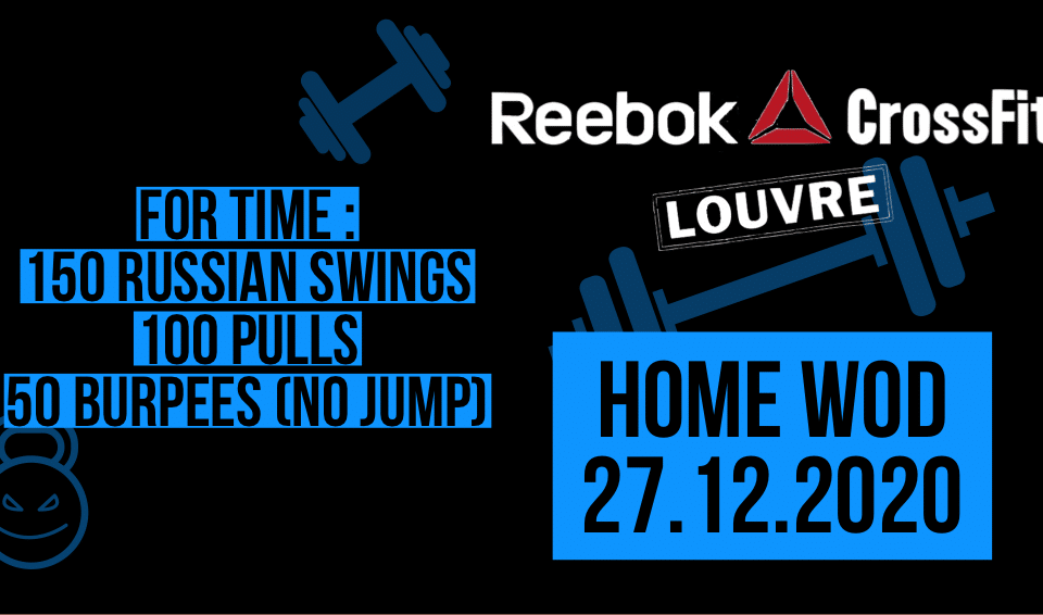 Pull Burpee No Jump Russian Swing For Time Metcon