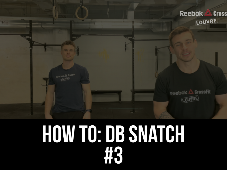DB Snatch Tuto How To Open