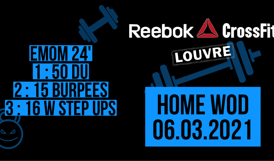 Double Under Burpee Weighted Step Up EMOM