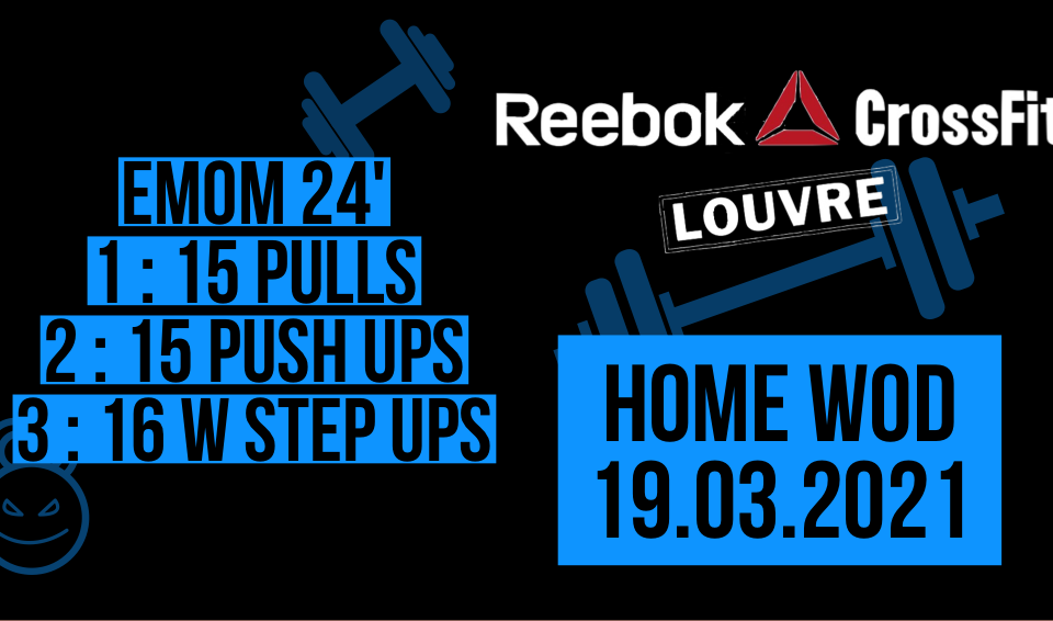 Pull Push Up Weighted Step Up EMOM