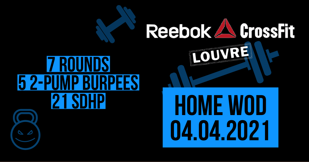 2 Pump Burpee SDHP Couplet For tIme
